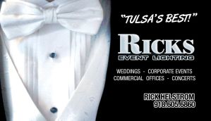 Ricks Lighting Biz Card - Back by thefamouscorndogg
