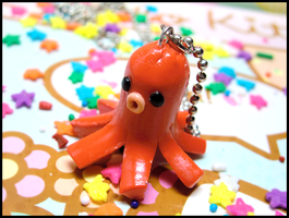 Octo-Sausage Necklace by GrandmaThunderpants