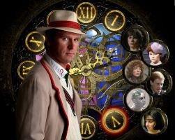 The Fifth Doctor by killashandra-falta