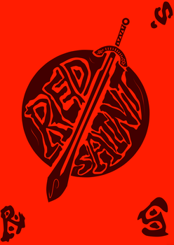 Red Saint Sword by LOUSY-1001-0100