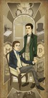 1800s Kurt and Blaine by miryah