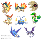 Pokemon Stock Images 2 by GlassPanda