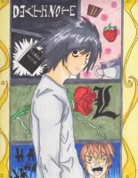 Death Note L by nerdydrawings12