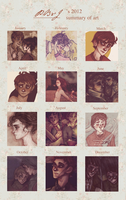 -This Year's Art Summary- by HennaLucas