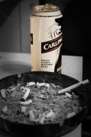 fags and booze by karleoni