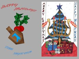 Holiday Card by duckness