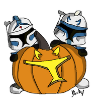 Little Halloween Troopers by Jedi-Cowgirl