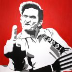 Johnny Cash - The finger by WhyattThrash