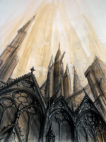 Notre Dame by FoxInShadow