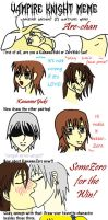 Vampire Knight Meme by Are by Usagi-Are-chan