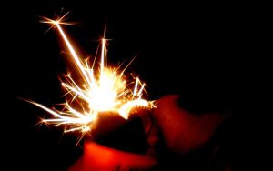 Sparks Chain Reaction by liquidozzwald