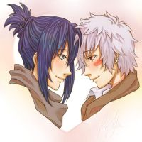 NO.6 : Nezumi+Sion : Together by Kai-Yan