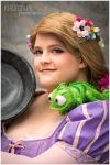 Tangled - Rapunzel by theYellowPost-it