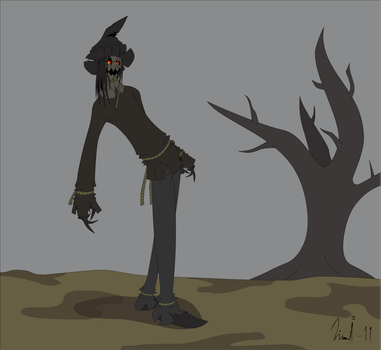 The Scarecrow by Kurvos