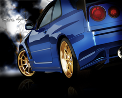Nissan Skyline by circlegreen