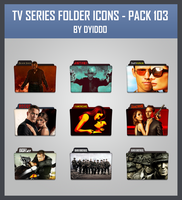 TV Series Folder Icons - Pack 103 by DYIDDO
