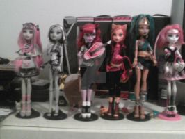My MH Doll Collection So far...Sold some by chaoticlatina