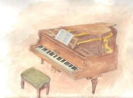 My piano by CdQ-14