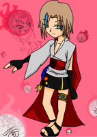 SHaman King OC by XxHina-ShadexX