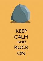 Keep Calm And Rock On by SuperNiall64