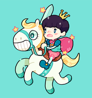 prince baek by genicecream