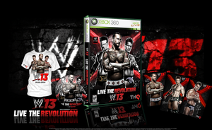 WWE 13 Special Edition Cover by SoulRiderGFX