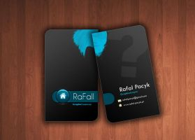 Business Card by iRafall