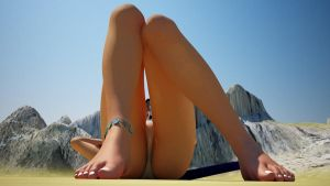 Tiffy plays with Robin 06 by Giantess-Beatrice