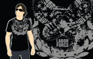 Labor Force shirt 3 by mylkhead