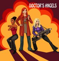 Doctor's angels by DameEleusys