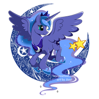 Luna Crescent by Jiayi