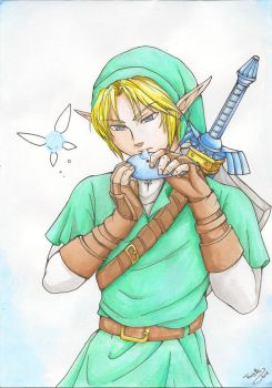 Song of Link by Tenshi--no--yume