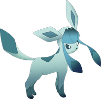 Glaceon by Aekx