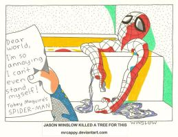 Spider Wimp Chronicles by Mrcappy