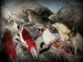 Group Goat Hunt - Hunting by SonsationalCreations