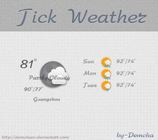 Tick Weather by DemchaAV
