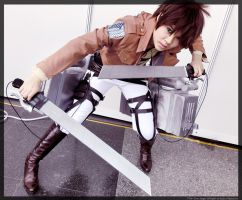-Attack - (Eren Jaeger) by KT-ExReplica