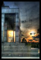 HDR sunfall by Rinc3wind