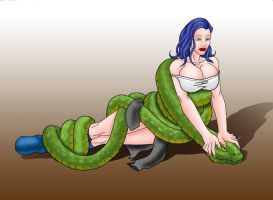 T.K. Vs Snake By Bayliss by Cooolstorm