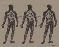 Robin back armour concepts by mansarali