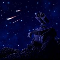 WALL-E Patch--Stargazing by PadawanLinea