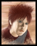 Gaara of the Desert Sun by KenXVII
