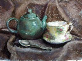 Green Teapot by MountainInspirations