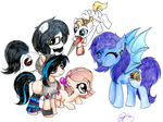 Let the pony (personas) play by HJLyn