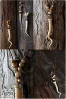 Unicorn Horn Necklace by Nymla
