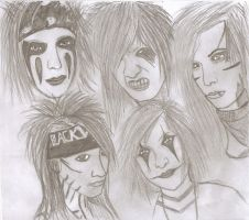 Black Veil Brides by kazekagegaara13
