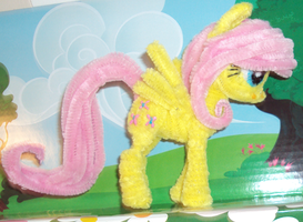 Itty-bitty Fluttershy by PonyCrafter