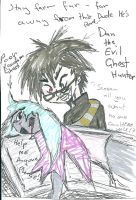 Dan that evil ghost hunter by Kittychan2005