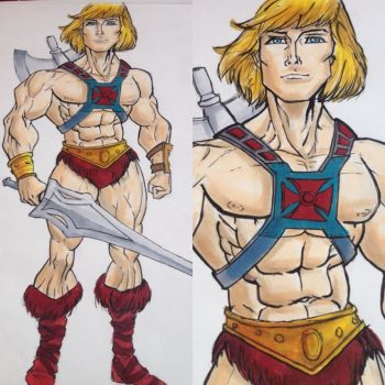 He-Man! (And the Masters of the Universe!) by CatLadyD