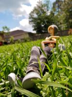 Relaxing on a nice spring day by geekypnai